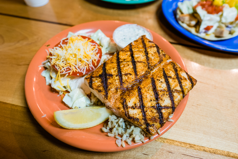 Local Style Grilled Mahi Mahi Plate