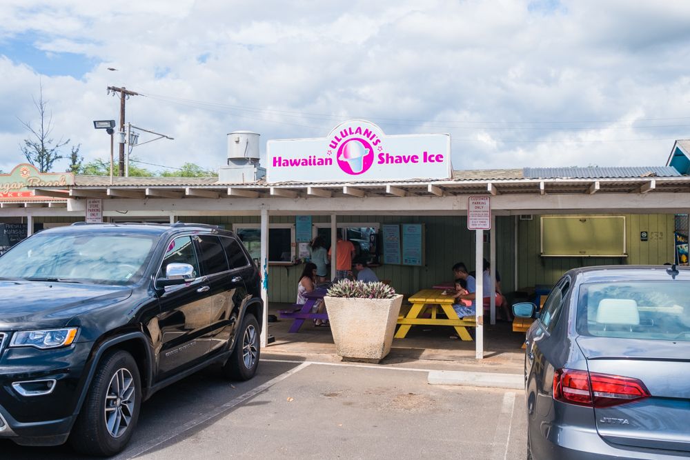 uluani's hawaiian shave ice maui hawaii