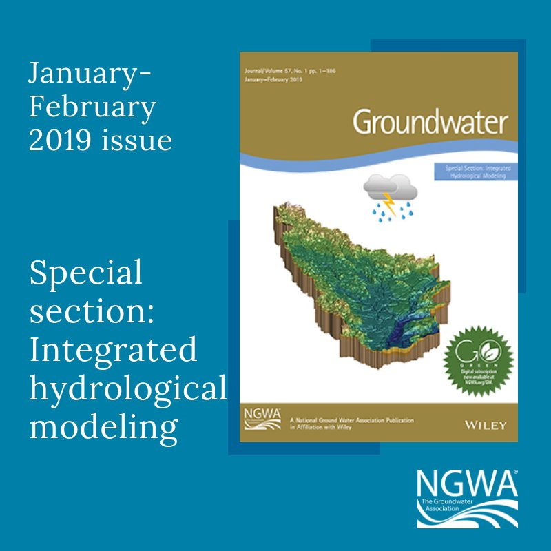 Groundwater's Special Section on Integrated Hydrologic Modeling