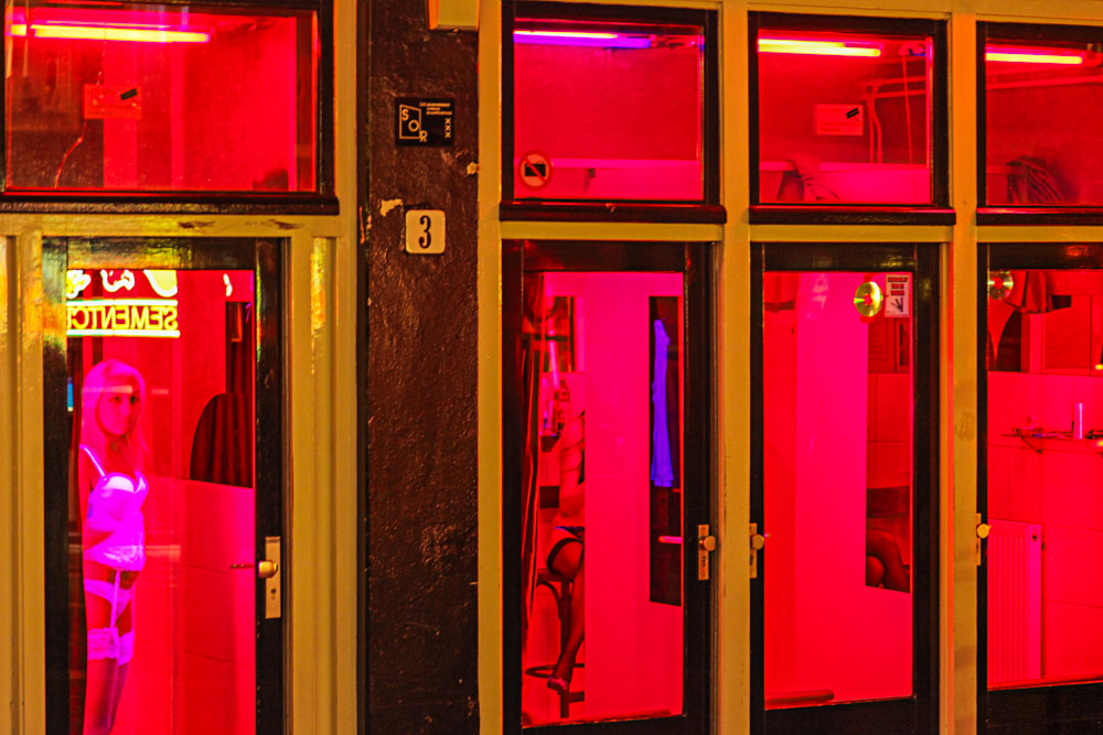 Red Light District, Amsterdam, Holland, 2009