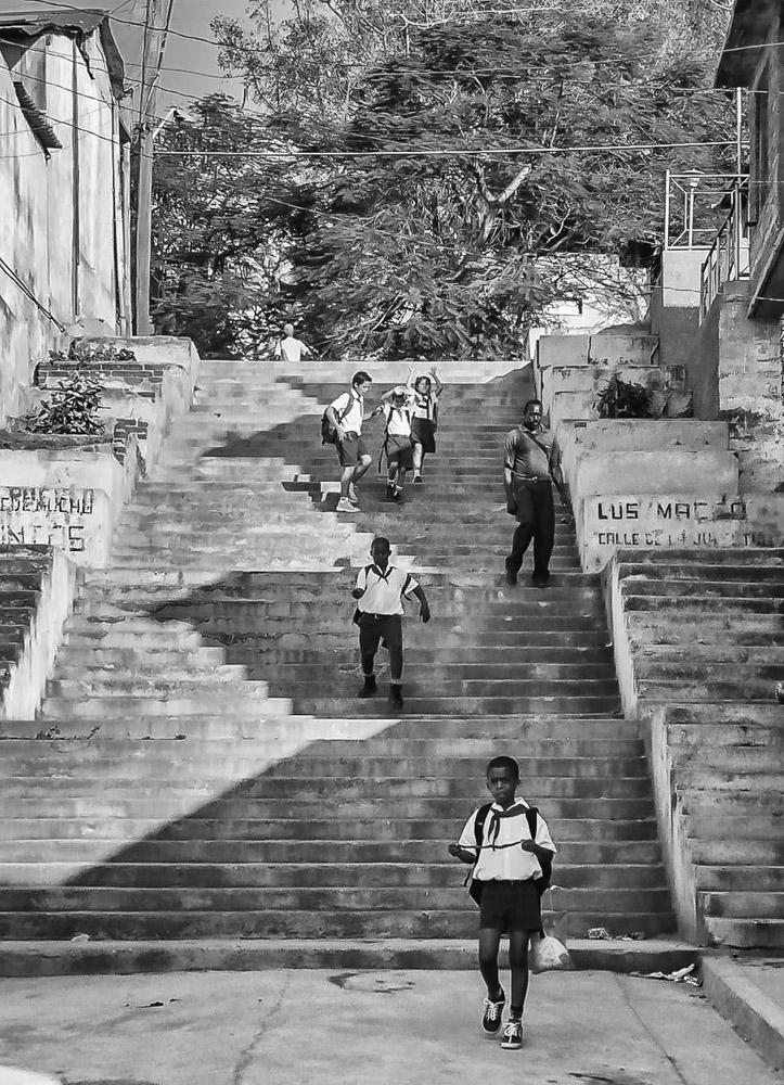 Escalinata de Los Maceos