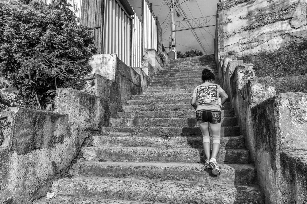 Escalinata de Calle 6
