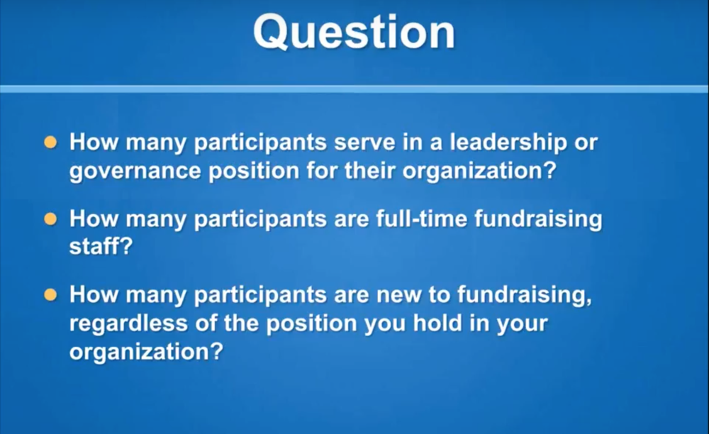 Help they want me to fundraise webinar screenshot