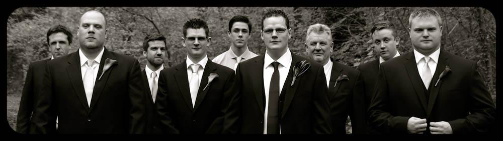 Marwell Hotel Tarantino boys black and white Wedding photo cardiff best
