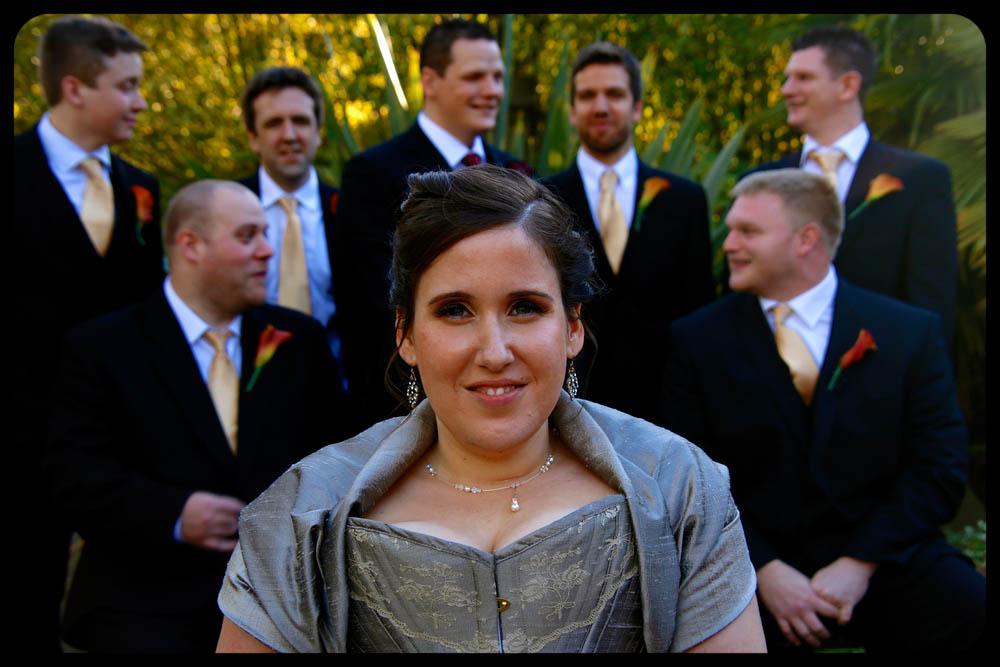 Marwell Hotel Bride and the boys Wedding photo cardiff best