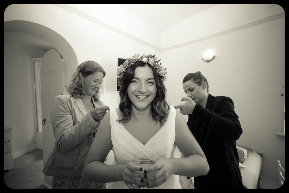Dani & Sarah West Usk lighthouse wedding photographer cardiff South wales