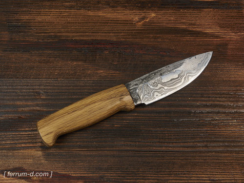 Outdoor Messer Damaszenerstahl Utility Knife Pattern Welded Magnificent Pattern Welded Steel