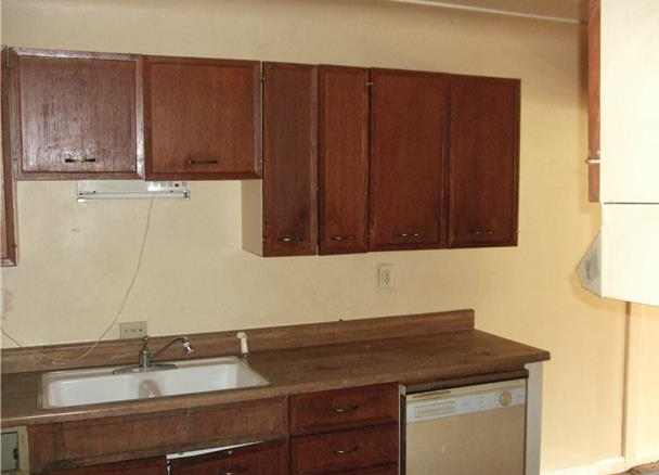 The previous kitchen