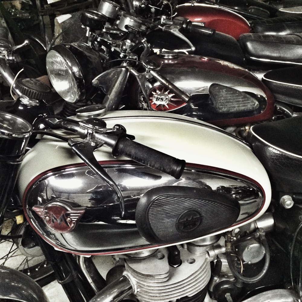 Matchless and BSA getting friendly