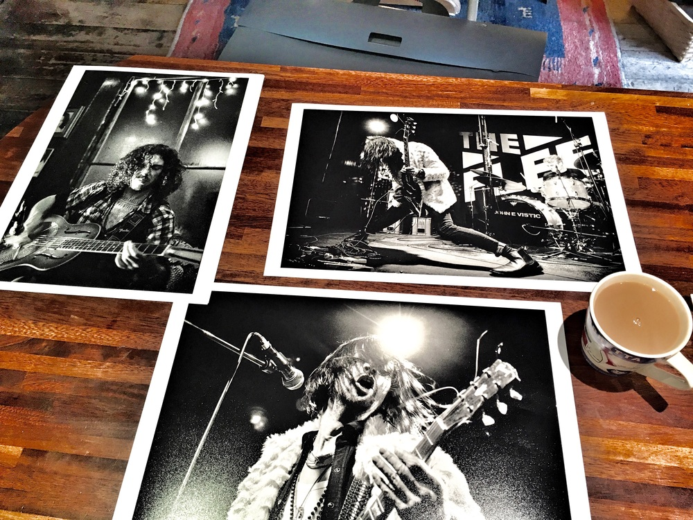 Five prints per month challenge for 2016