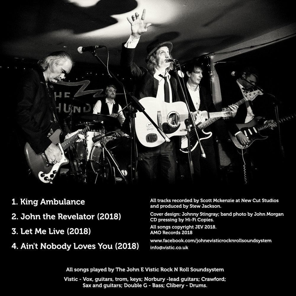 John E Vistic Rock n Roll Soundsytem at the Thunderbolt, Bristol