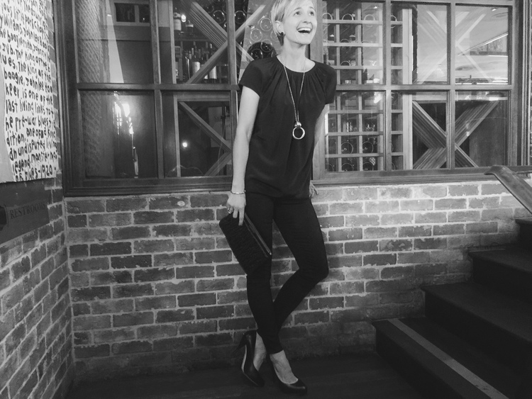Its Friday!  Mia Black Toothpick Skinny Jeans