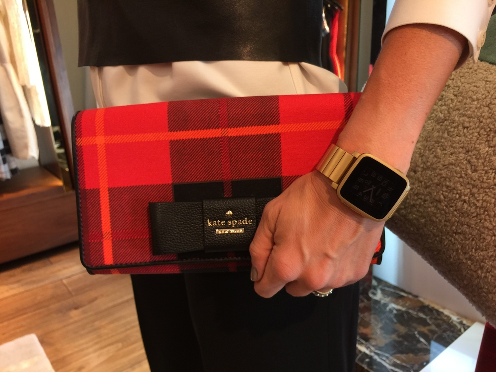 Fashion & Technology:  creating a perfect look for this Fall.  (Pebble Time Steel)