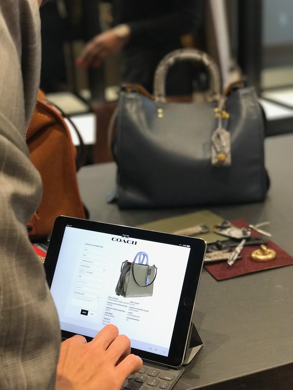 Coach's latest venture merges fashion with technology for a special Made-to-Order experience.