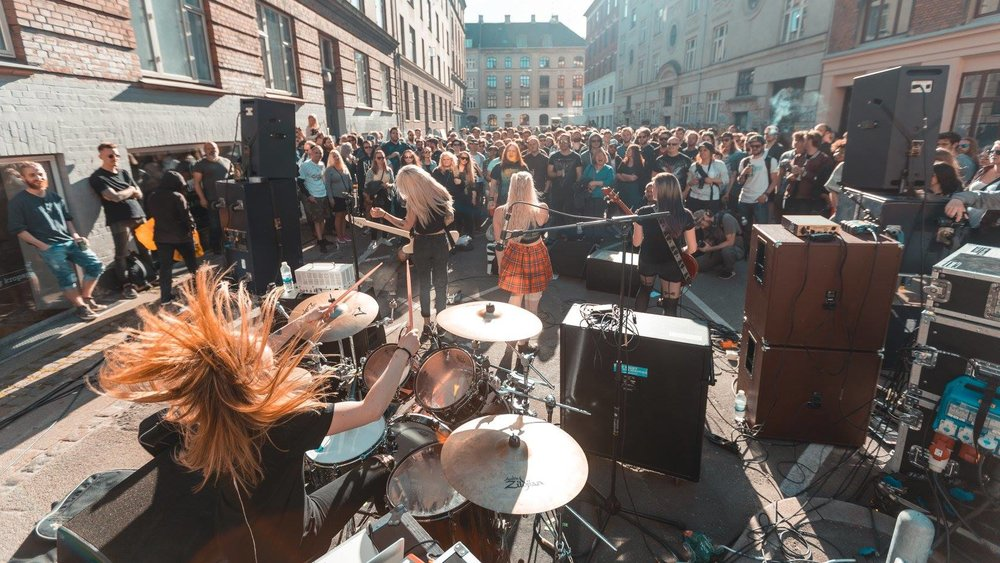 THANK YOU, Distortion! Once again we had a succesful Prime-Time at this years Distortion! We had 8 bands playing against each other, beautiful weather and the best crowd. We will definitely repeat this succes next year. Photo: Ivy Crown Photographer: Sebastian Falck Stigsby
