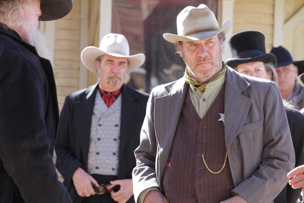 Grainger Hines as Sheriff Harden