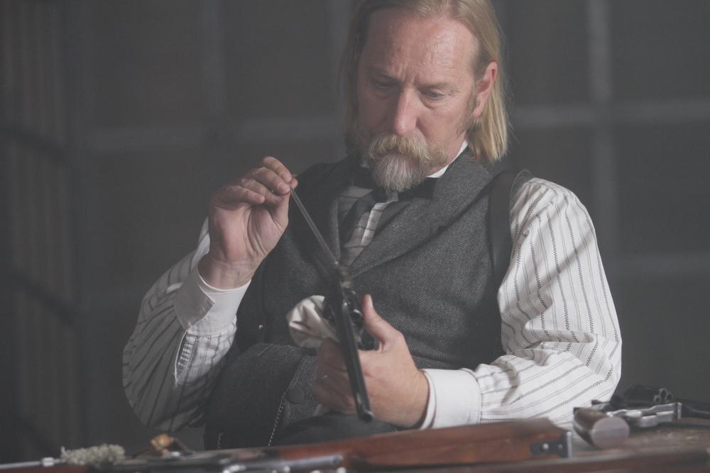 Jeffery Patterson as Marshal Vance Dillinger
