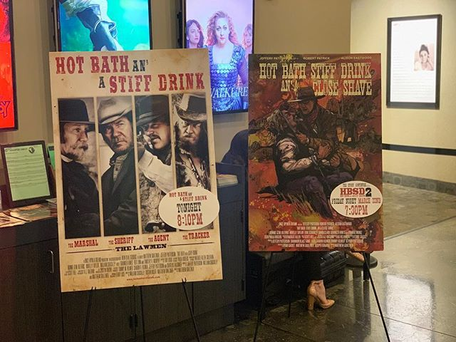 Don't miss out! Hot Bath Stiff Drink and a Close Shave showing this Friday at 7:30 at @laemmletheatres in North Hollywood as part of Noho Cine Fest ✨✨✨ . . . #nohocinefest #western #filmfestival #noho #film