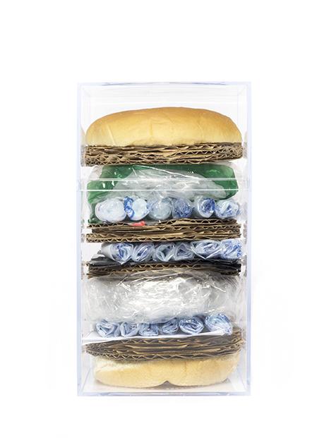 """""""Amazon Burger,"""" Iris Xing, 2015"""