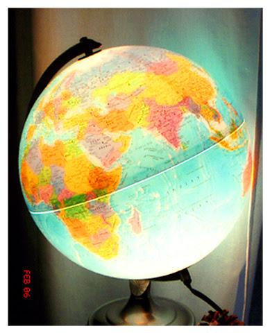"""Globe (2006)"", 2016, archival pigment print, 74 x 60 inches"