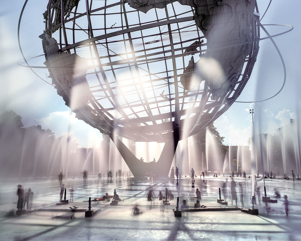 Unisphere, Queens, 2016. Image courtesy of Matthew Pillsbury.