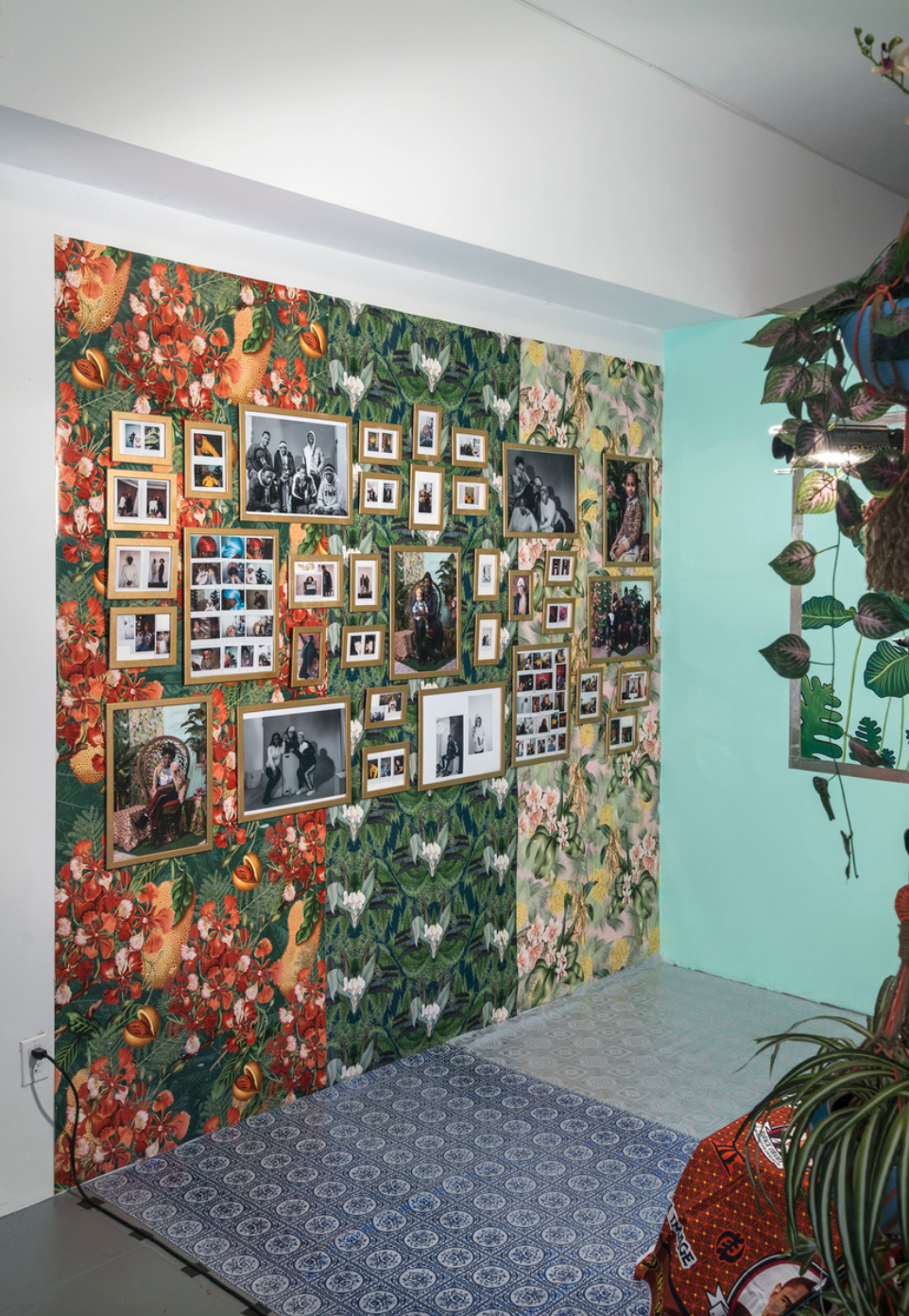 """Installation view of Tiffany Smith's """"A Moment in the Sun"""""""