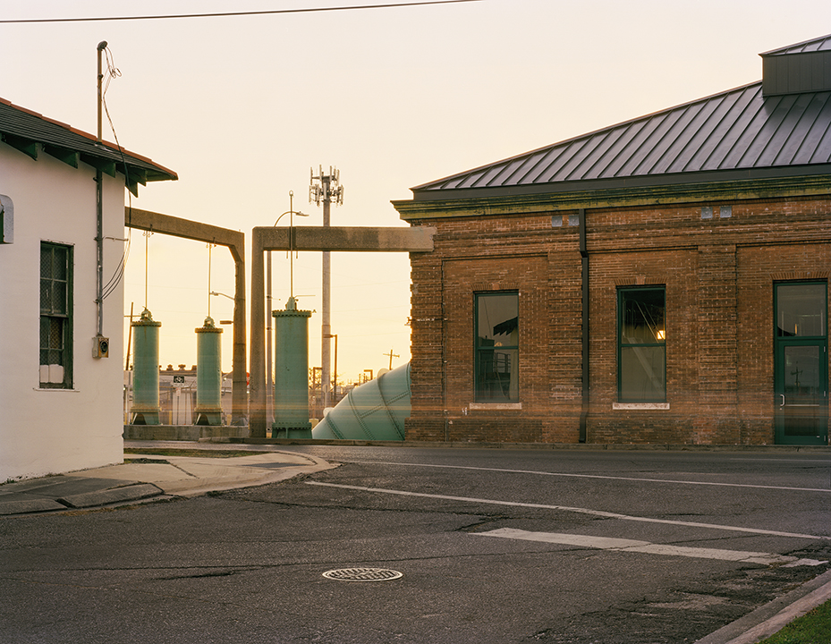 Pumping Station No. 2, North Broad Street,  2018, Digital Print 40x50 inches  ©Alison Gootee