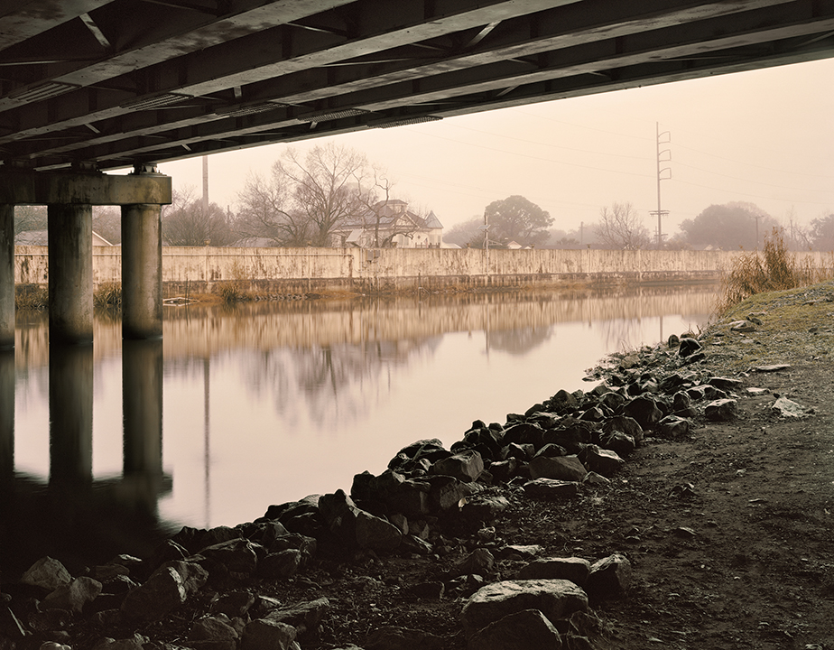 Orleans Avenue Outfall Canal, Lakeview , 2018. Digital print, 40x50 inches.  ©Alison Gootee