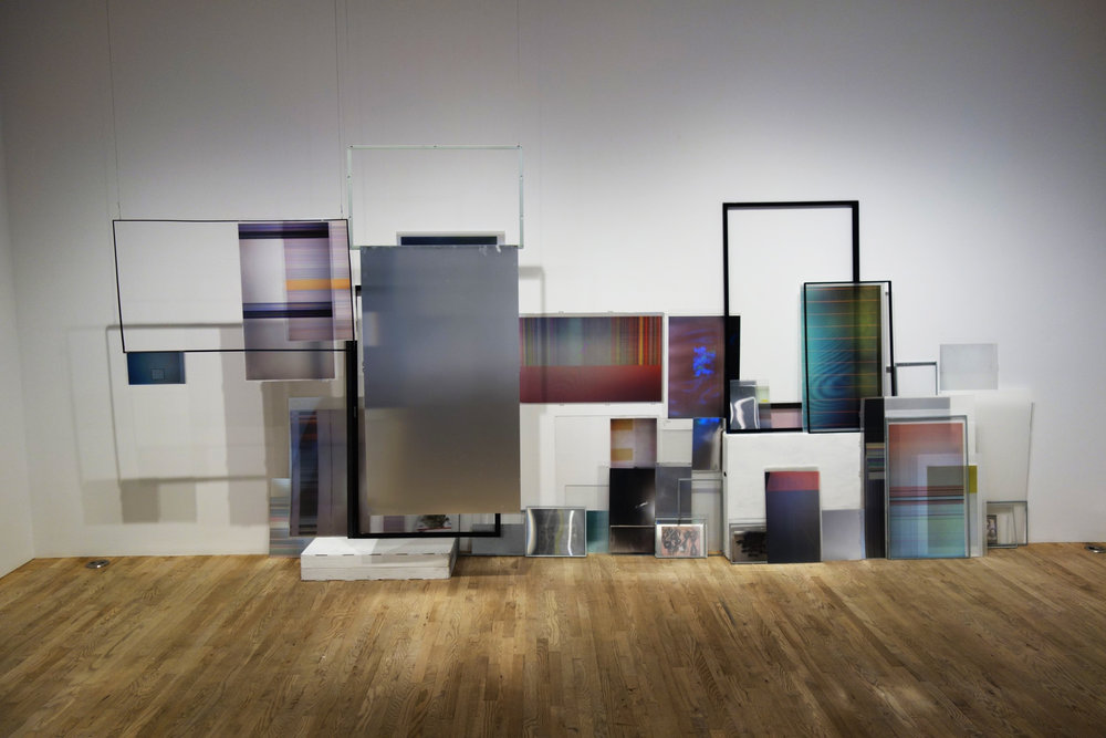 Installation view of Umbrico's work