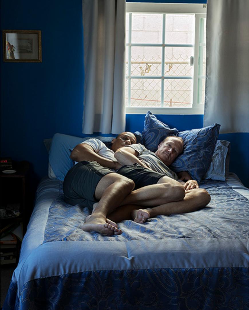 Derrick Washington & Kurt Gramm, Los Angeles, CA;  Photo by Erica Deeman