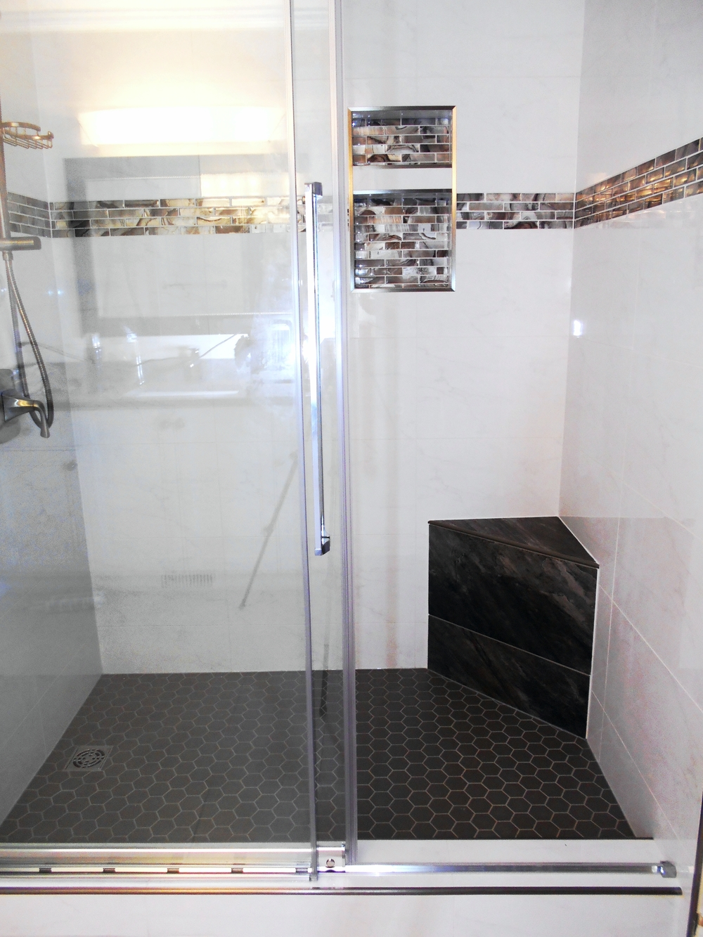 From tub to beautiful shower