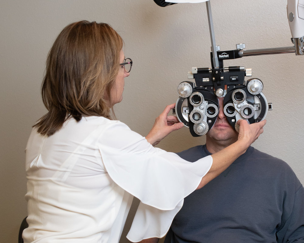 now accepting new patients- in vision optical