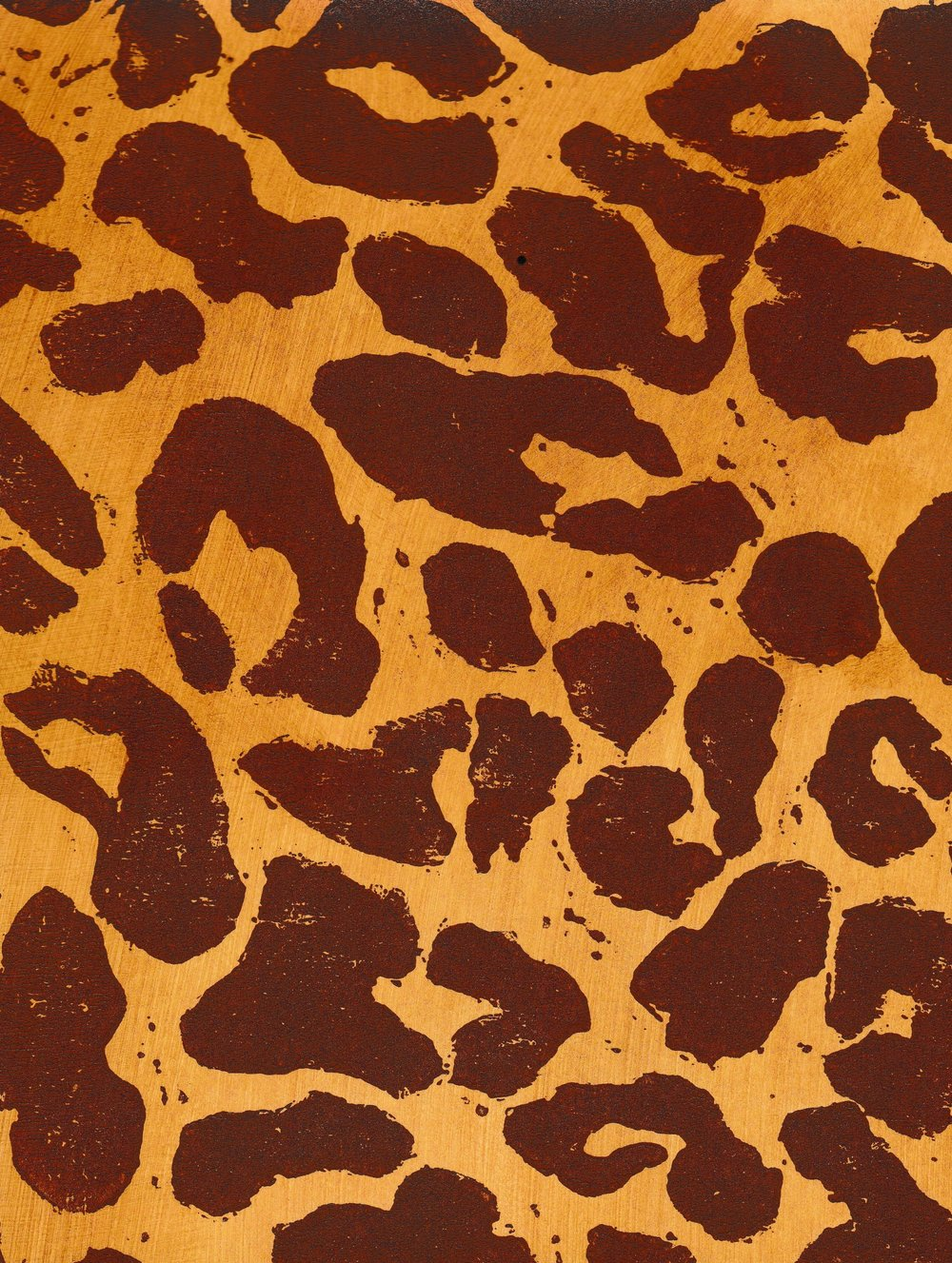 P103: Leopard - Aged Ivory