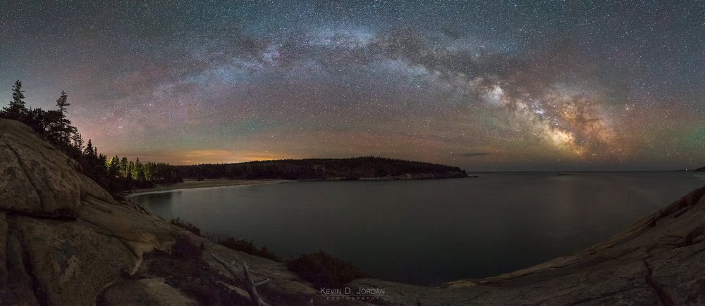 Milky Way Over Newport Cove