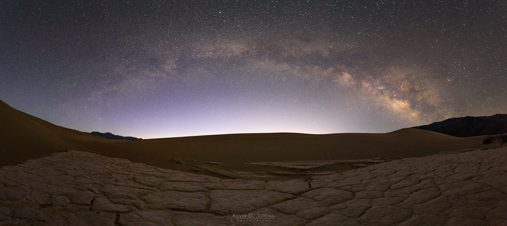 Milky Way Over Mesquite Flat