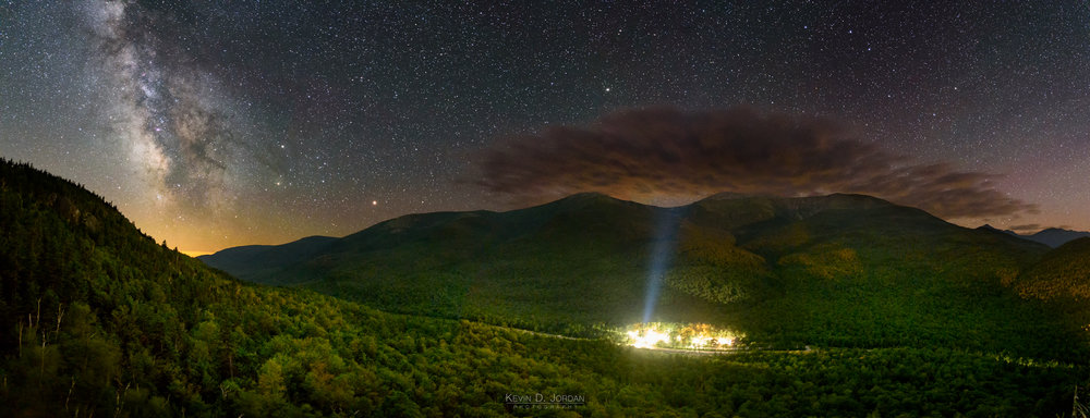 Night Over Pinkham Notch