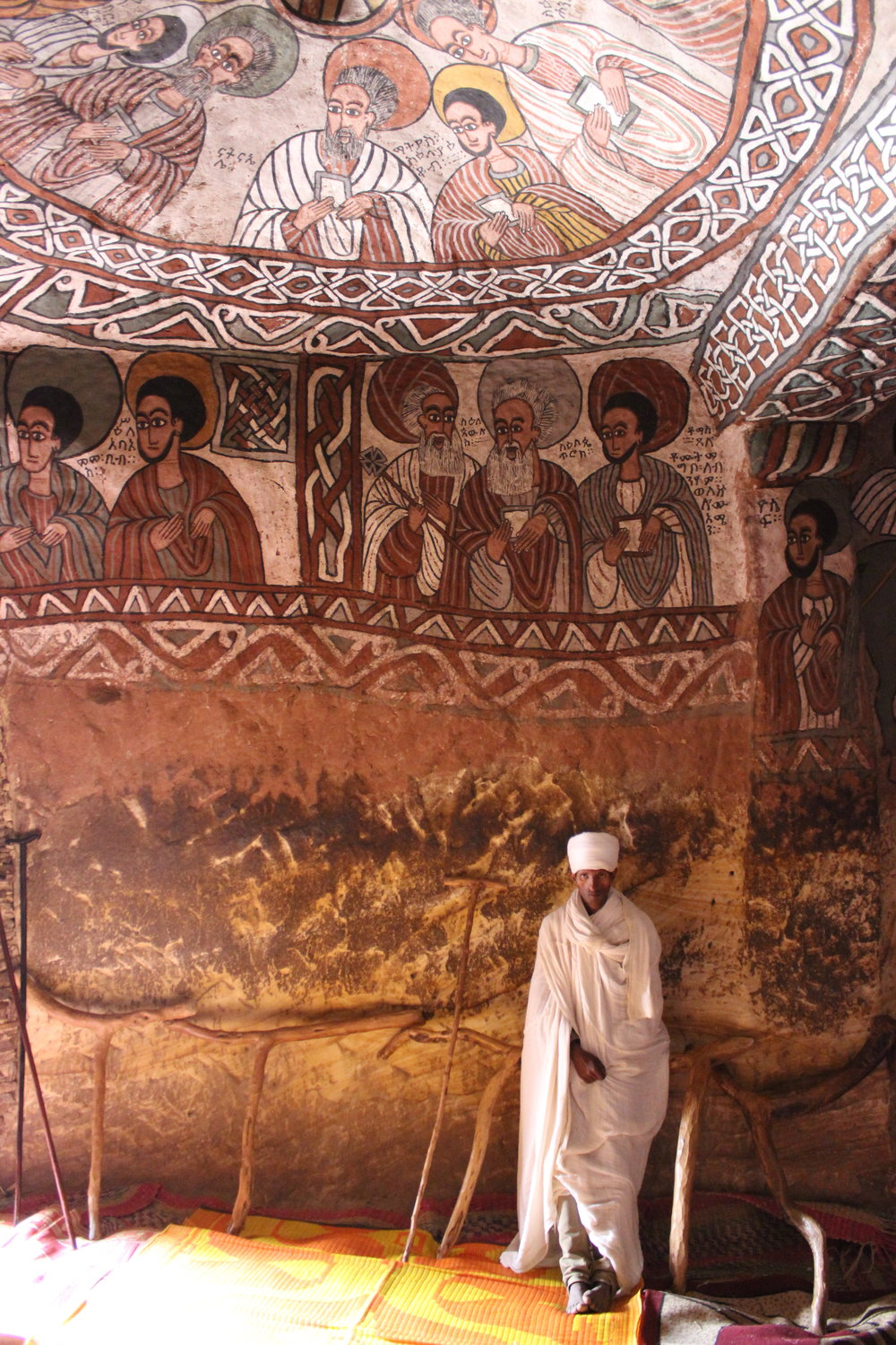 Abune Yemata Guh, a rock-hewn church in the Tigray region of Ethiopia. (Photo: Brittany Gibbons)