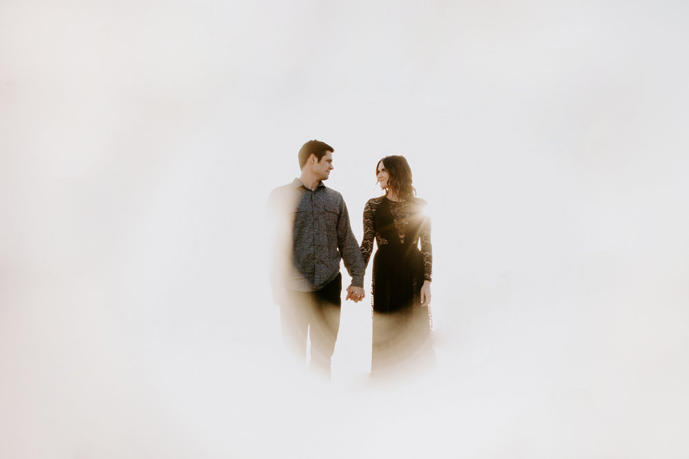 Couple's anniversary session at Mount Lemmon in Tucson Arizona