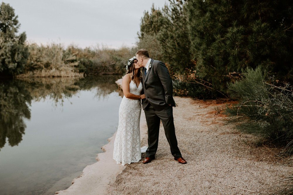 Lake at Windmill Winery Wedding Venue in Arizona