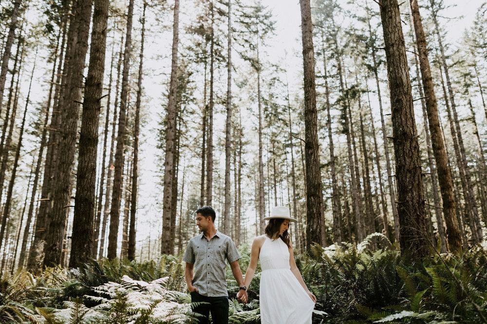 Forest in Portland, Oregon