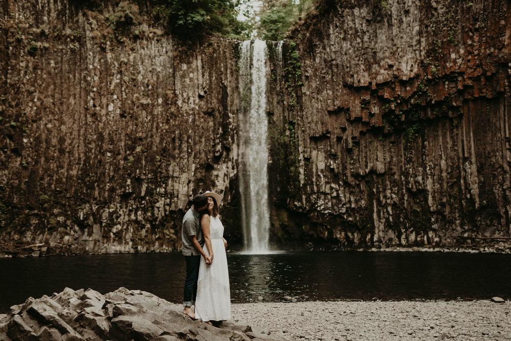 Abiqua Falls in Portland, Oregon