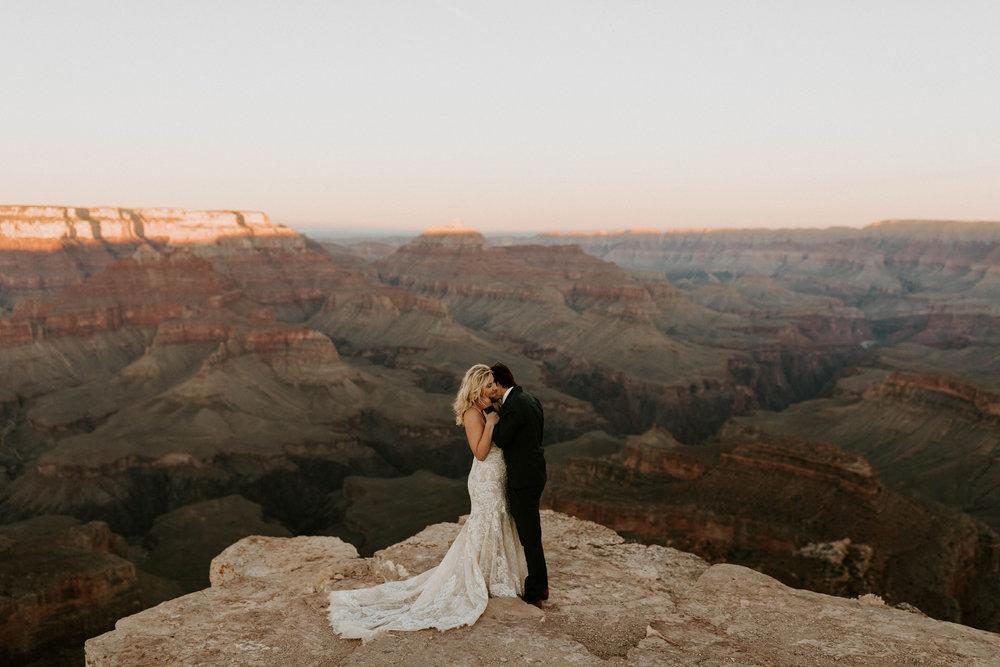 Shoshone Point at Grand Canyon National Park in Arizona