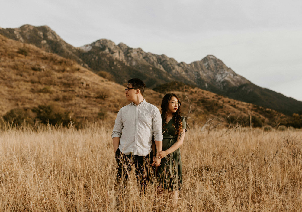 Engagement Session at Madera Canyon in Tucson, Arizona