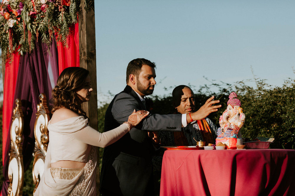 Traditional Indian Hindu Wedding at Paseo Wedding Ceremony Space