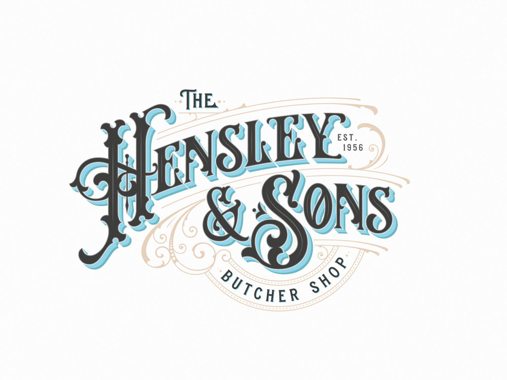 The hensley & sons – butcher Shop