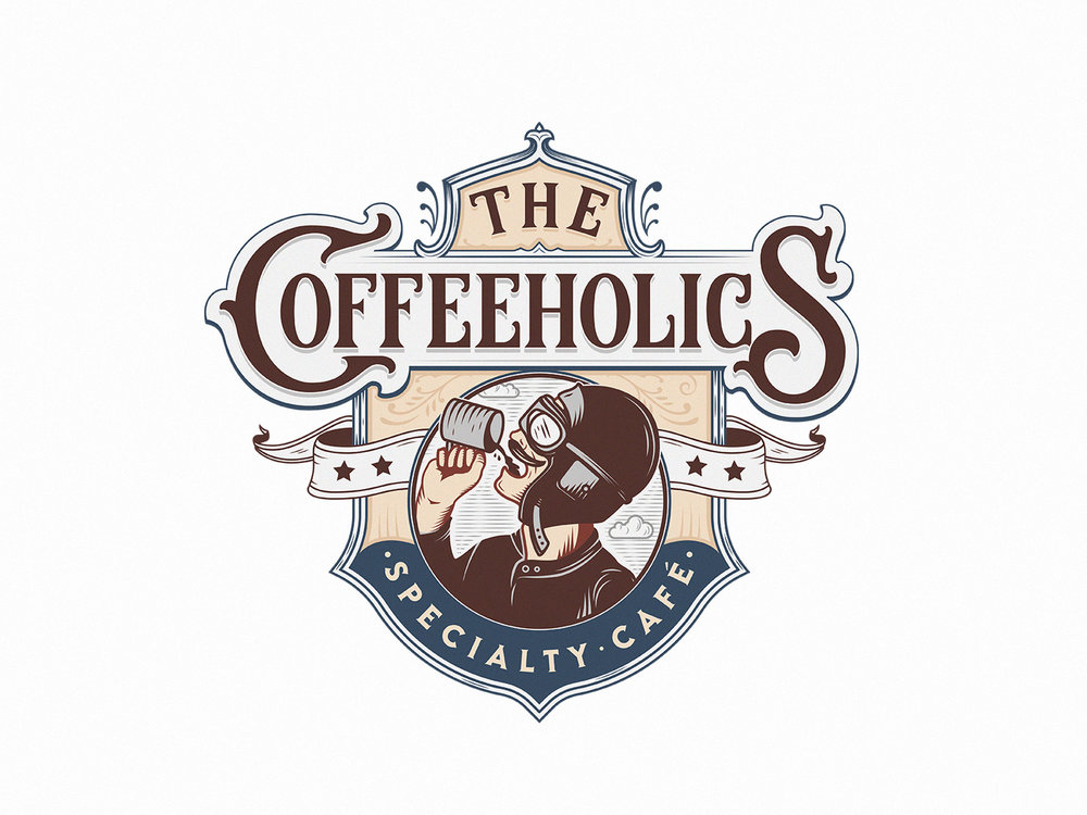 the coffeeholics – specialty CAFÉ (version 1)