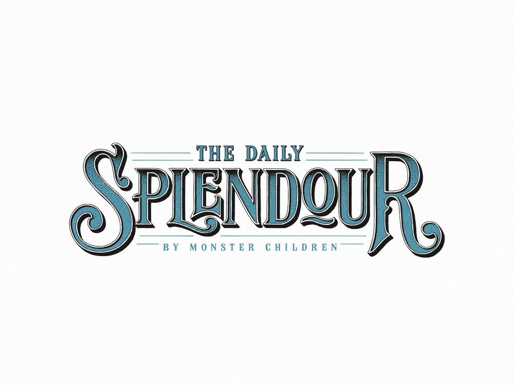 the daily splendour – by monster children