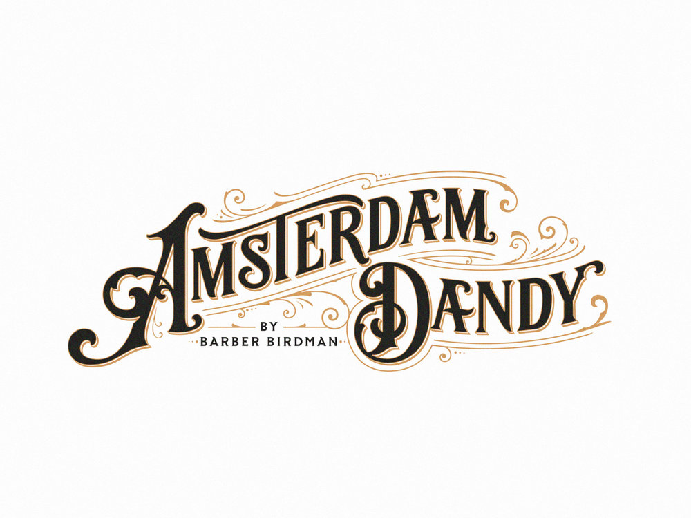 amsterdam dandy – by barber birdman