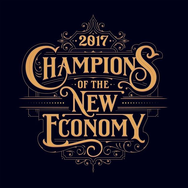 I recently created this headline for an article about the champions of the new economy in the 'dbusiness' magazine! ✨Art direction by Austin Phillips