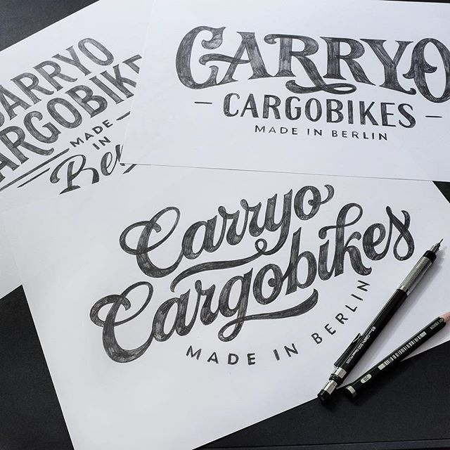 Sketches for 'Carryo Cargobikes'!! ✏️✨